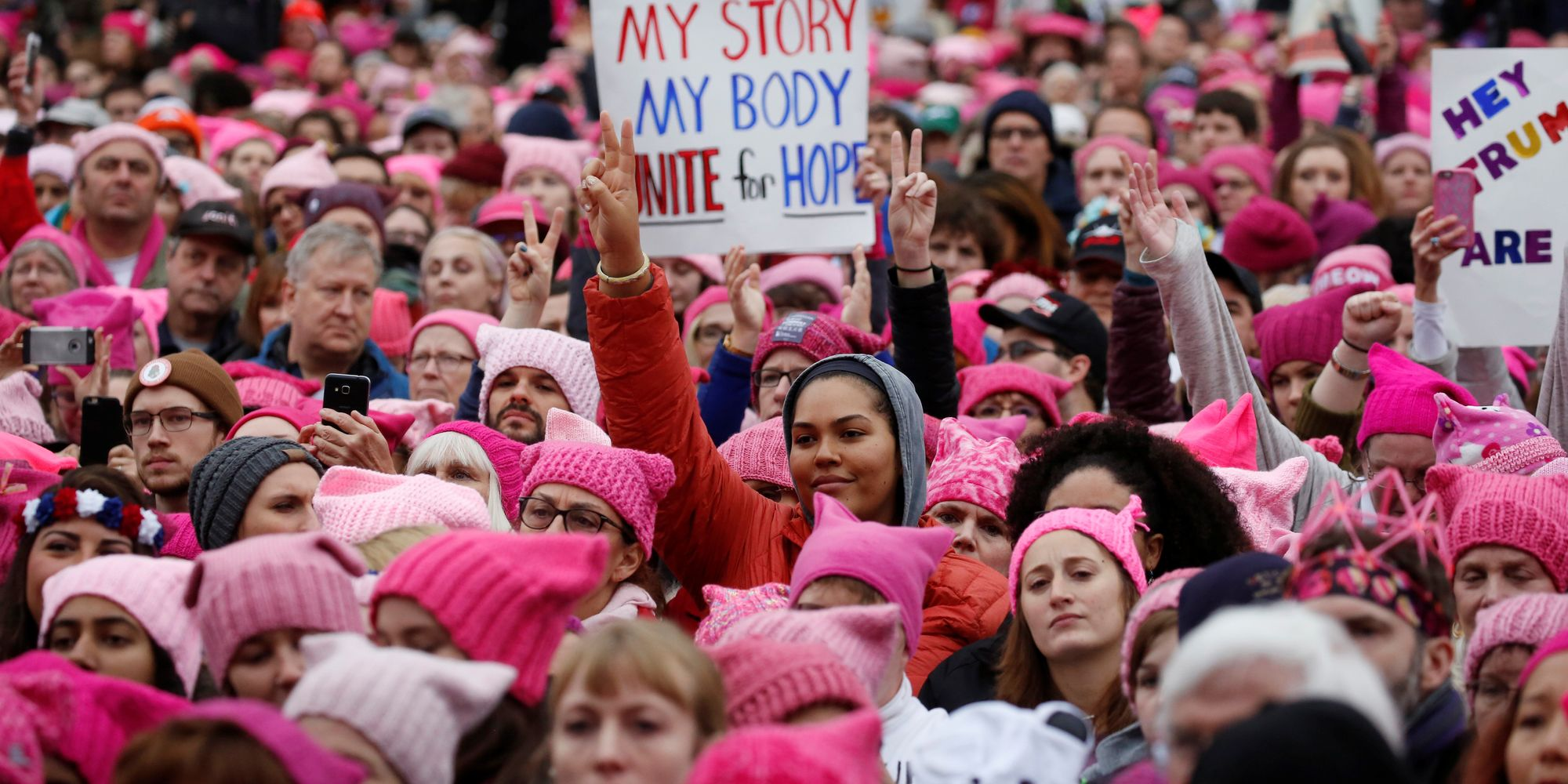 Protesters Nationwide Stand In Solidarity With D.C. Women ...