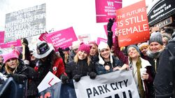 Celebrities Join Women's Marches Around The World In