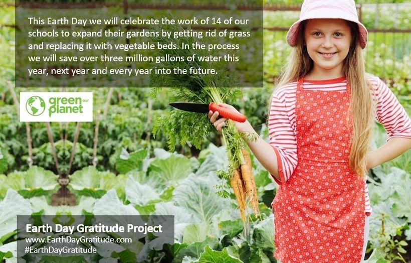 GreenOurPlanet.org helps schools plant teachable gardens.