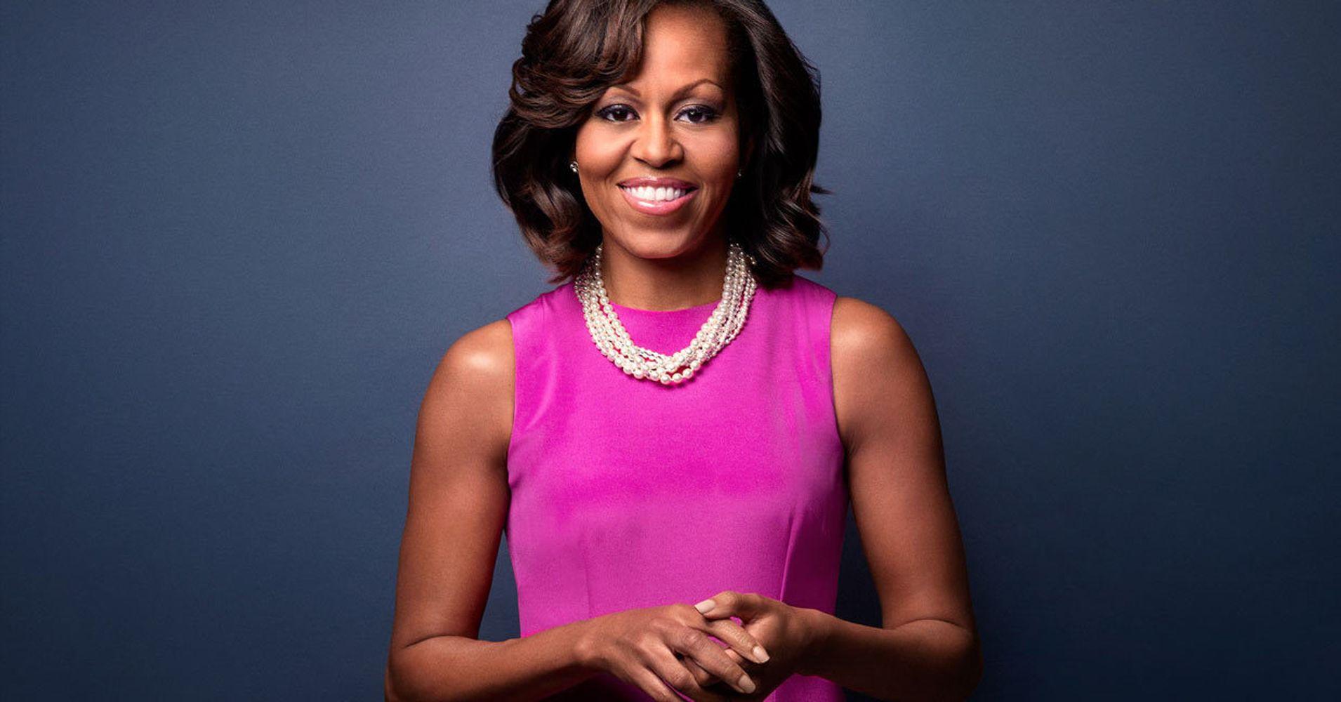 Michelle LaVaughn Robinson Obama Chicago 17 januari 1964 is een voormalige first lady van de Verenigde Staten Zij is de echtgenote van de 44e Amerikaanse