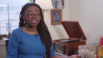 Jamia Wilson explains why she chose to march in Washington DC