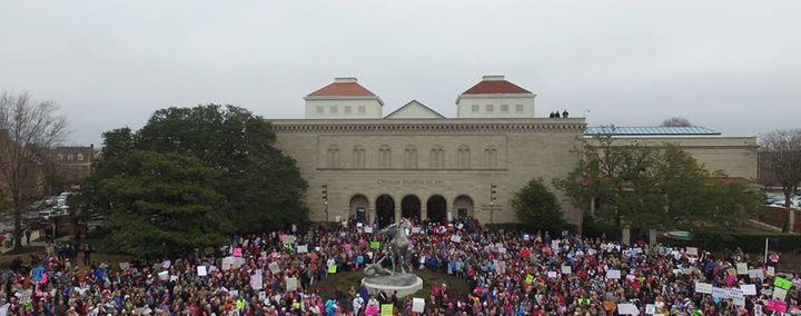 The Women's March in Norfolk, VA