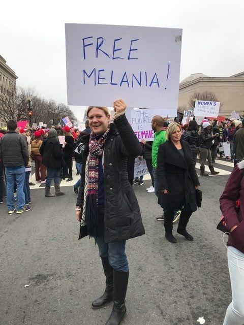 Yes, I do wonder about Melania...