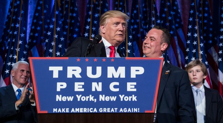 Reince Priebus, President Donald Trump's chief of staff, attacked the press for focusing on the inauguration crowd size.&nbsp