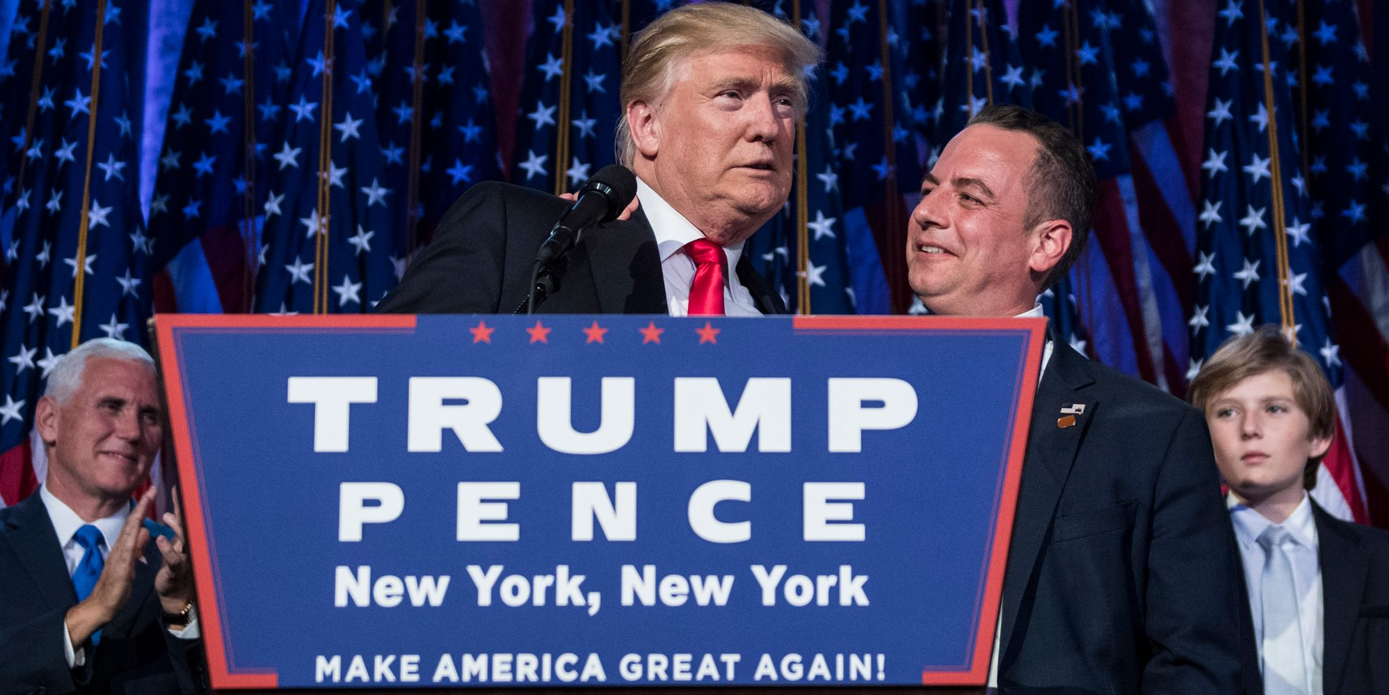 Reince Priebus Complains About The Press Trying To Delegitimize Donald Trump