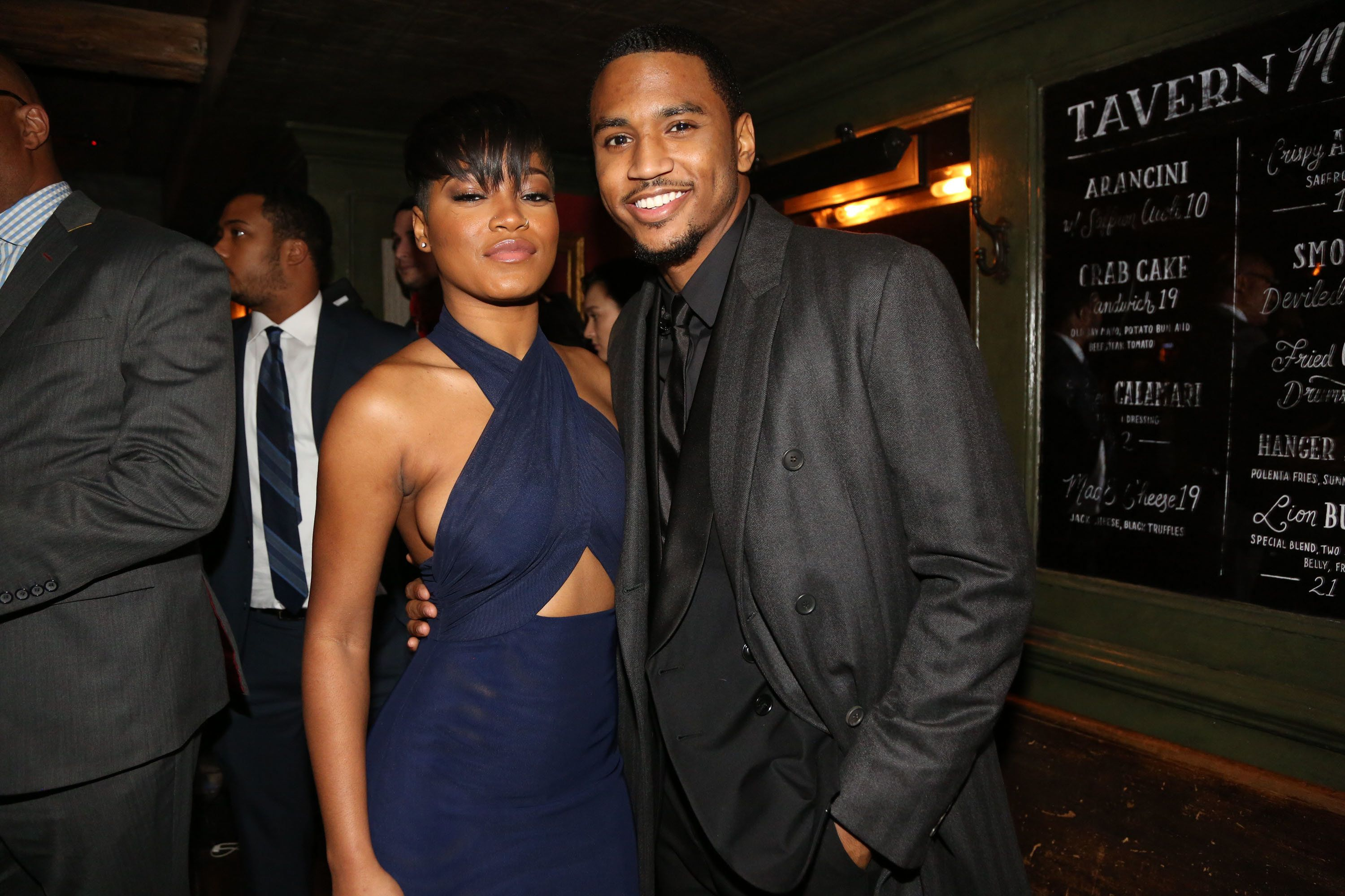Keke Palmer and Trey Songz in 2014.