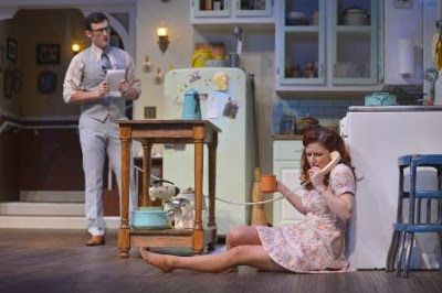 Joshua Marx (Barnette Lloyd) and Lizzie O'Hara (Babe Magrath) in a scene from<em><strong>Crimes of the Heart</strong></em>