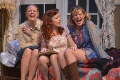 Therese Plaehn, Lizzie O'Hara, and Sarah Moser in ascenefrom<strong><em>Crimes of the Heart</em></strong>