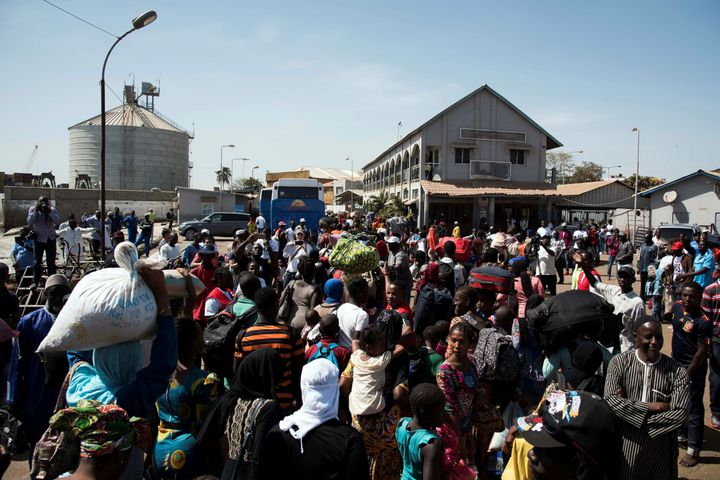 The repression under Jammeh has forced thousands of Gambians to seek asylum abroad over the years.