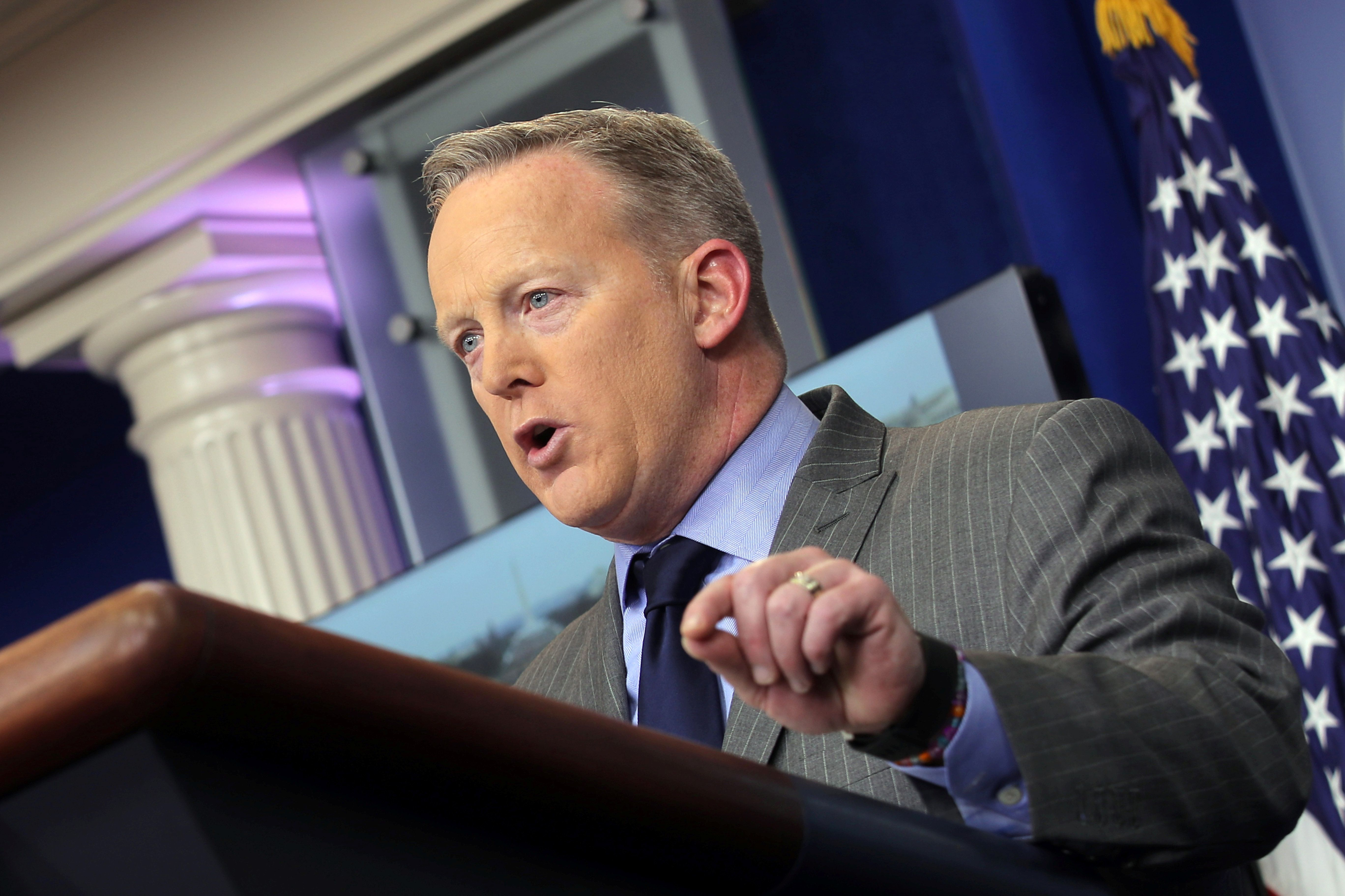 Spicer's Inauguration Whopper Makes Him Latest Hot