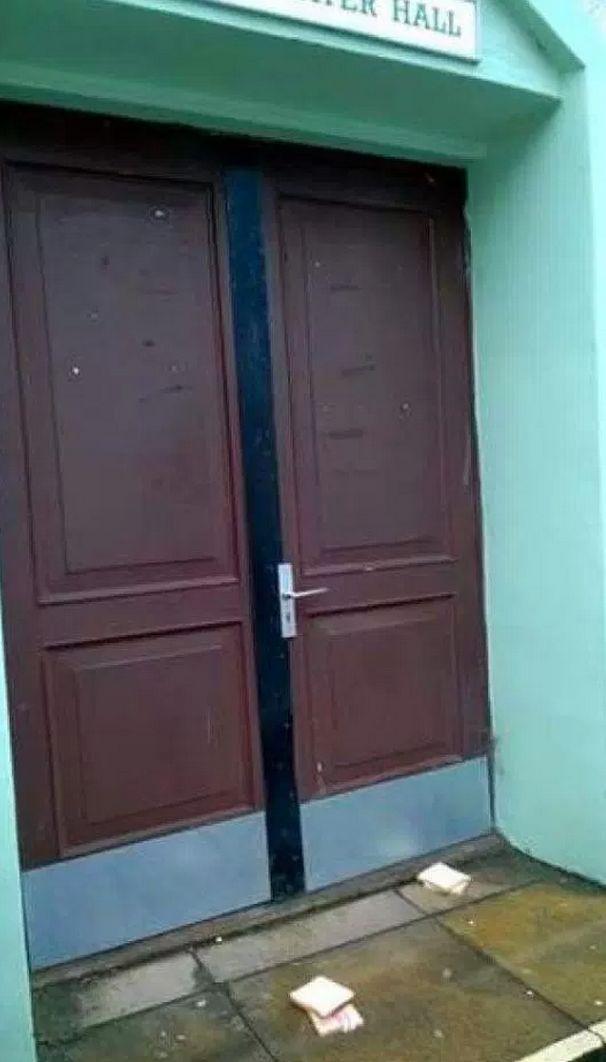 Jamia mosque in Totterdown where Crehan put bacon around the door handles and left bacon