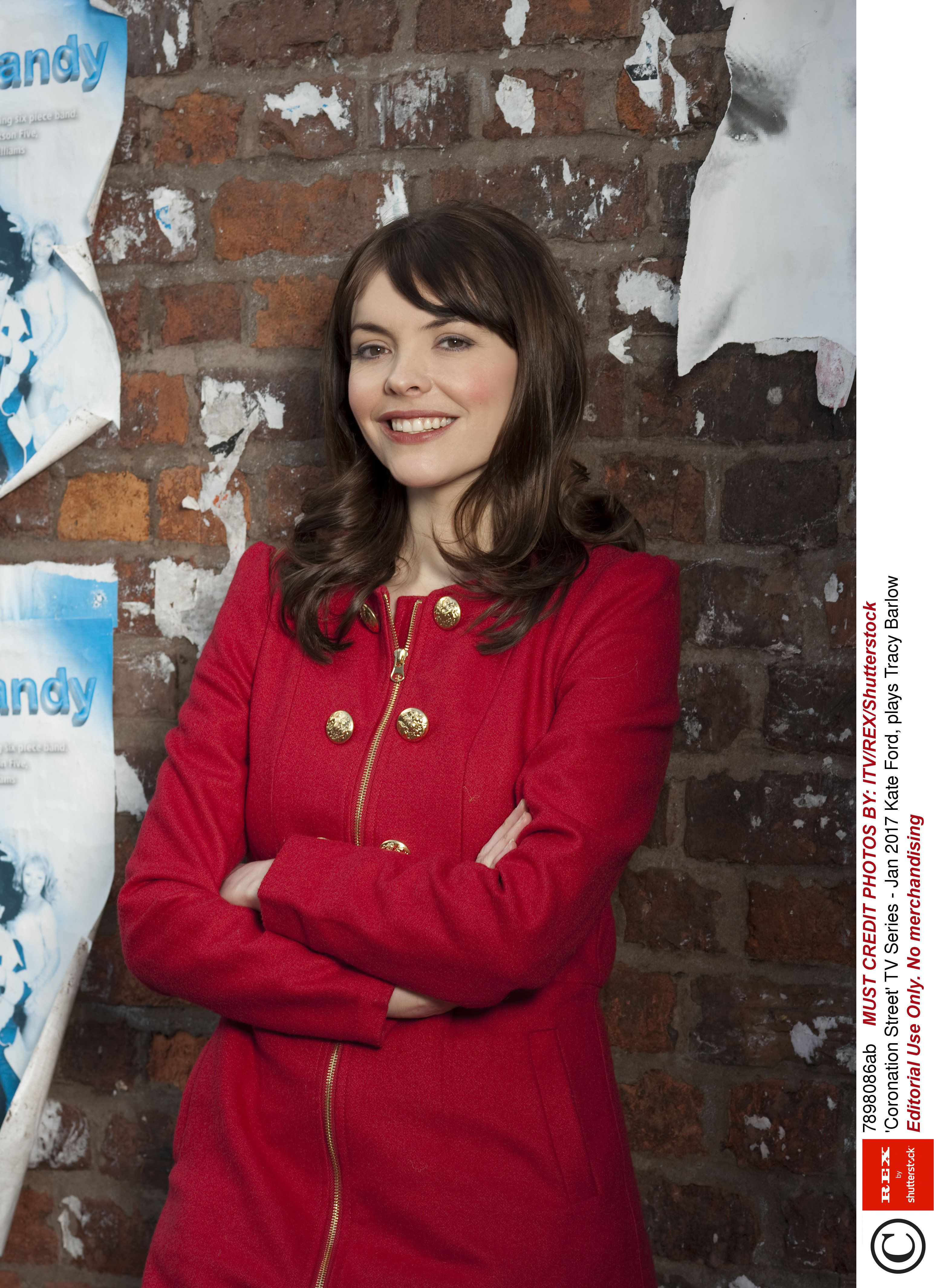 Kate Ford as Tracy