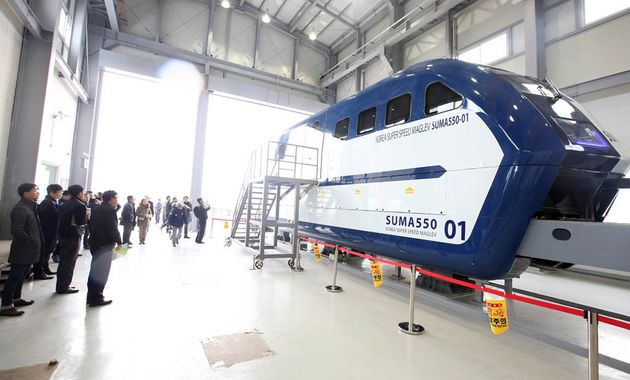 Maglev is currently the fastest-moving train technology