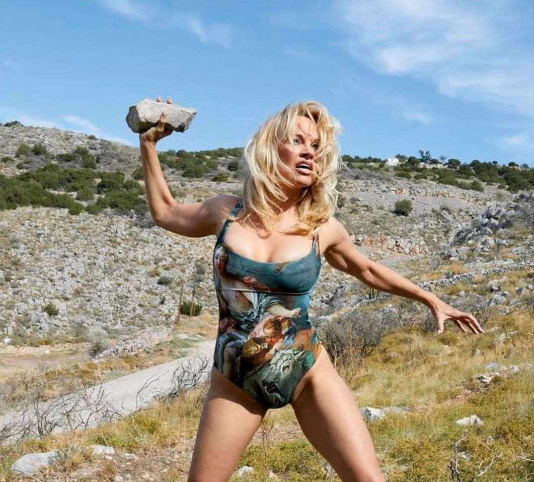 Pamela Anderson Turns 'Warrior' For New Vivienne Westwood