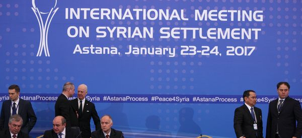 Expectations Low As Syria's Warring Sides Meet In Kazakhstan