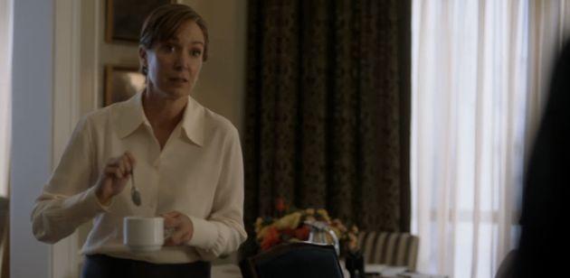 Elizabeth Marvel plays President-Elect Elizabeth