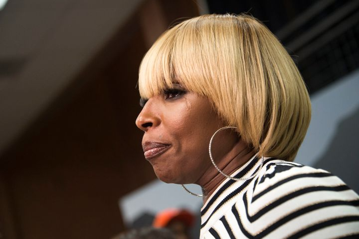 "Blige spoke at the Sundance Film Festival while promoting her new film ""Mudbound."""
