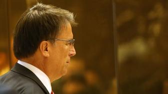 NEW YORK, NY - DECEMBER 07:  North Carolina Governor Pat McCrory arrives at Trump Tower on December 7, 2016 in New York City. Potential members of President-elect Donald Trump's cabinet have been meeting with him and his transition team of the last few weeks.  (Photo by Spencer Platt/Getty Images)