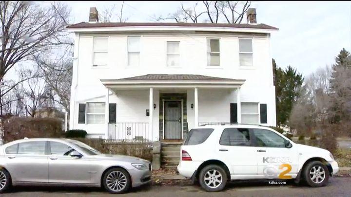 Brenda Richmond said that she and her ex-husband, Christopher Thompkins, were sleeping when they woke to a burglar Sunday.