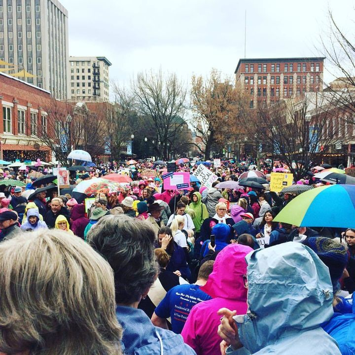 From the Women's March in Knoxville, TN.