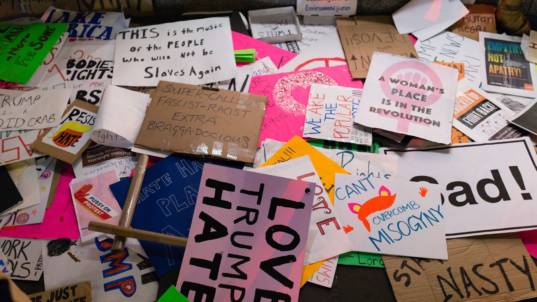 Women's March Signs Are Headed To Museums And Libraries