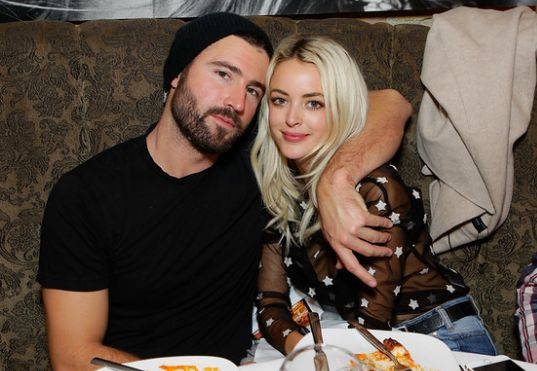 Brody Jenner and fiance Kaitlynn Carter picked up American Made Supply Co beanies at ChefDance 2017 sponsored by <strong>Sys