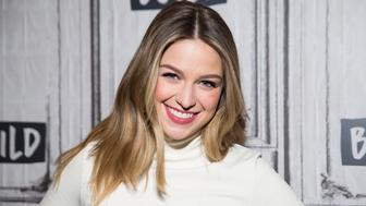 NEW YORK, NY - JANUARY 23:  Melissa Benoist attends AOL Build to discuss 'Supergirl' and 'Patriots Day' at Build Studio on January 23, 2017 in New York City.  (Photo by Jenny Anderson/WireImage)