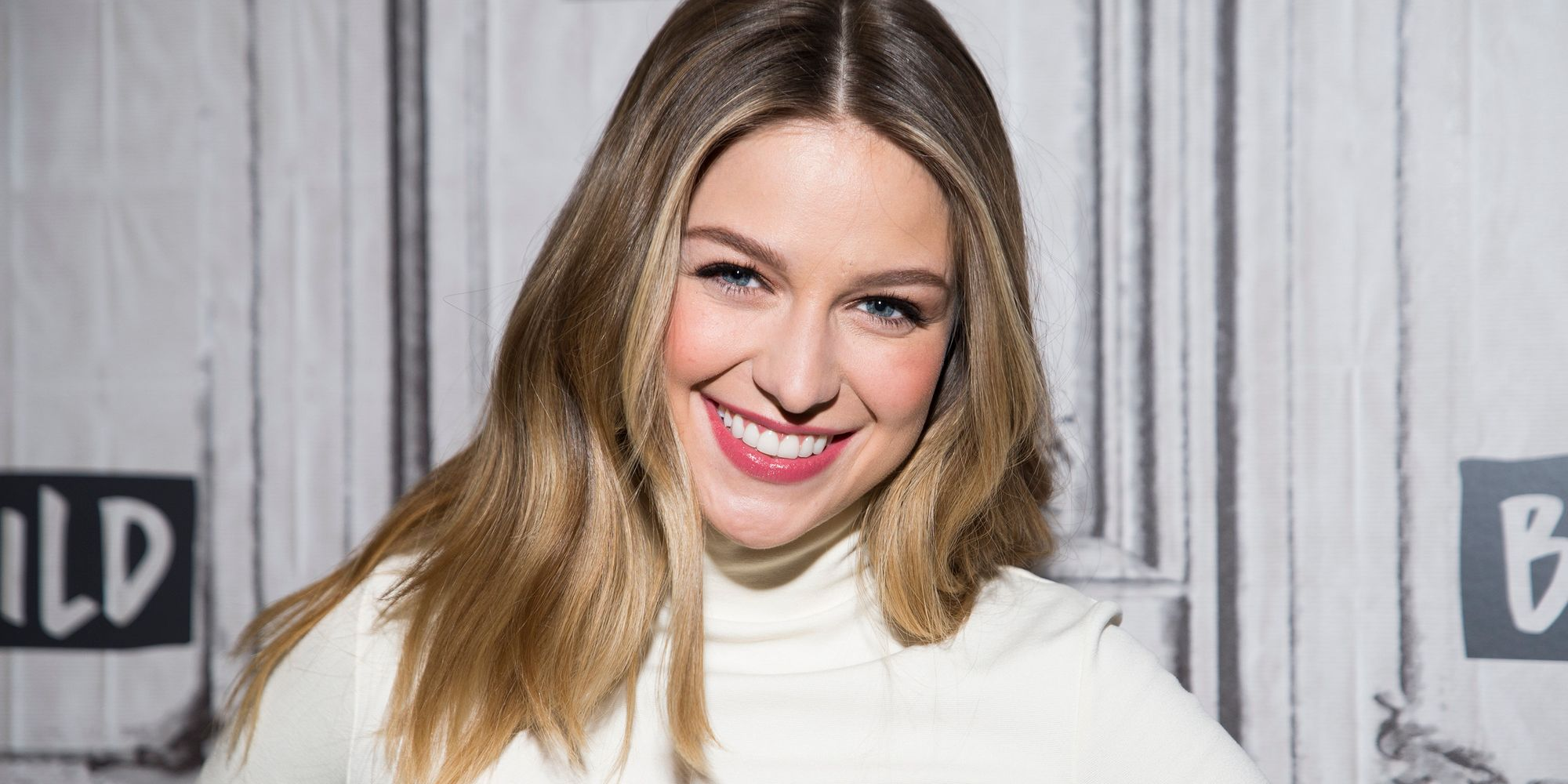'Supergirl' Star Melissa Benoist's Women's March Sign Was Out Of This World