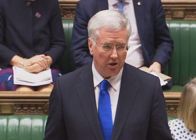 Commons Speaker Caught Calling Defence Secretary Michael Fallon 'Stupid' Amid Trident