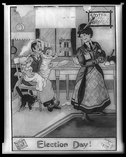 Election Day! circa 1909