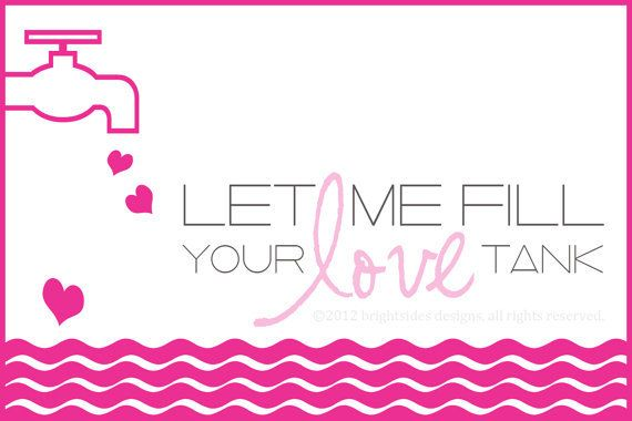 A Full Love Tank Is Sure to Keep Us In Authentic Love