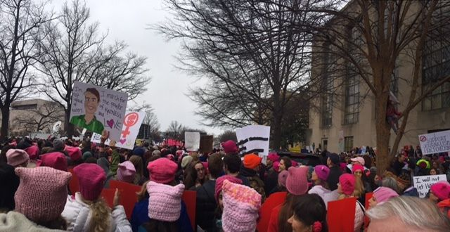 Women's March on Washington, Washington, D.C.