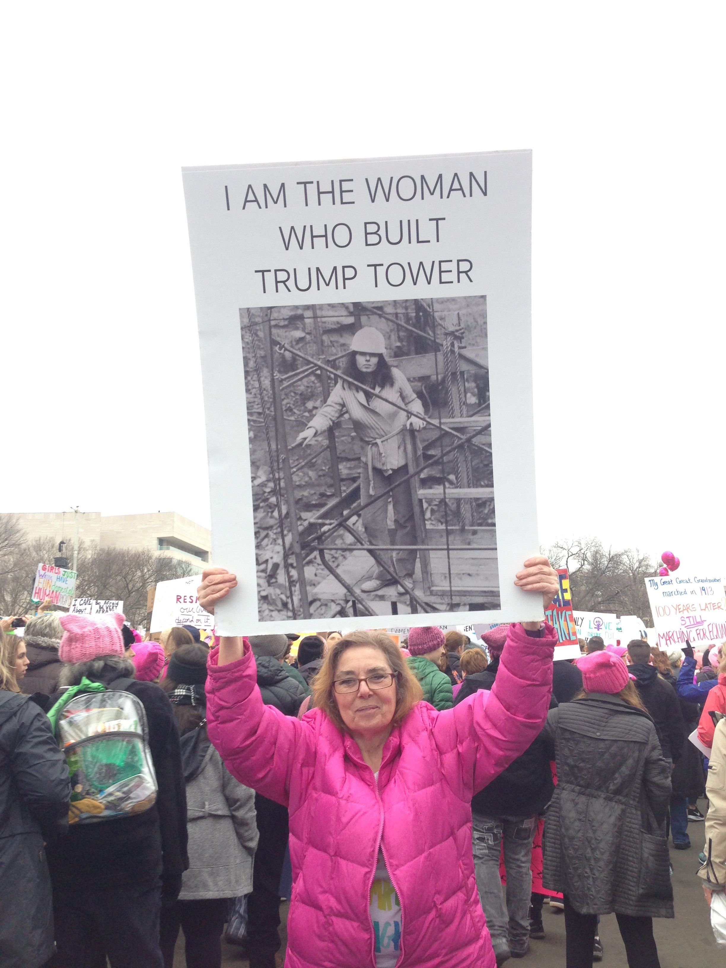 Barbara A. Res worked in construction on the Trump Tower from 1980-1984.