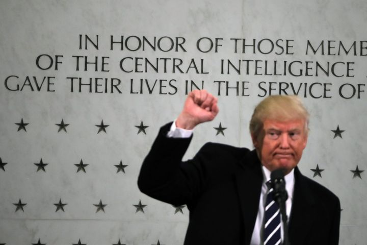President Donald Trump is bragging about his standing ovations at the CIA, but he never gave the employees there his permissi