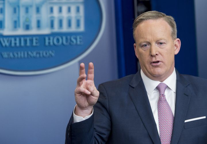 White House Press Secretary Sean Spicer dodged a basic factual question.