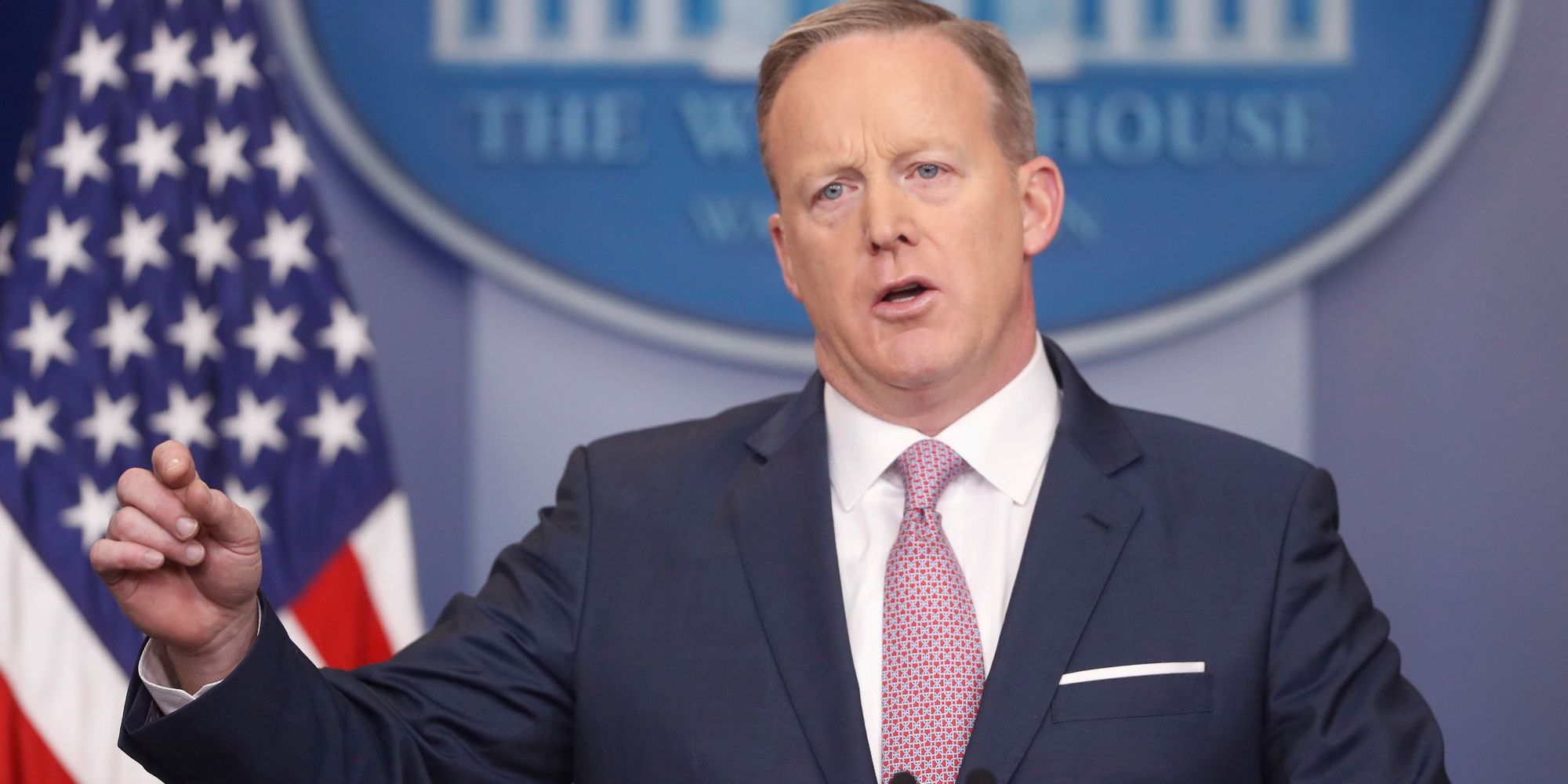 White House Press Secretary Sean Spicer Breaks With Briefing Room Tradition
