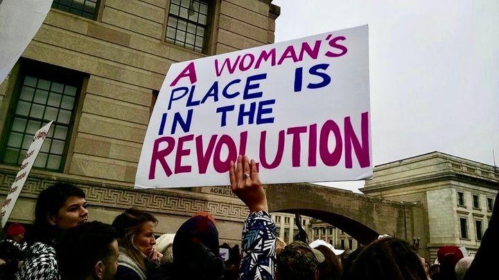 Taken at the Women's March on Washington