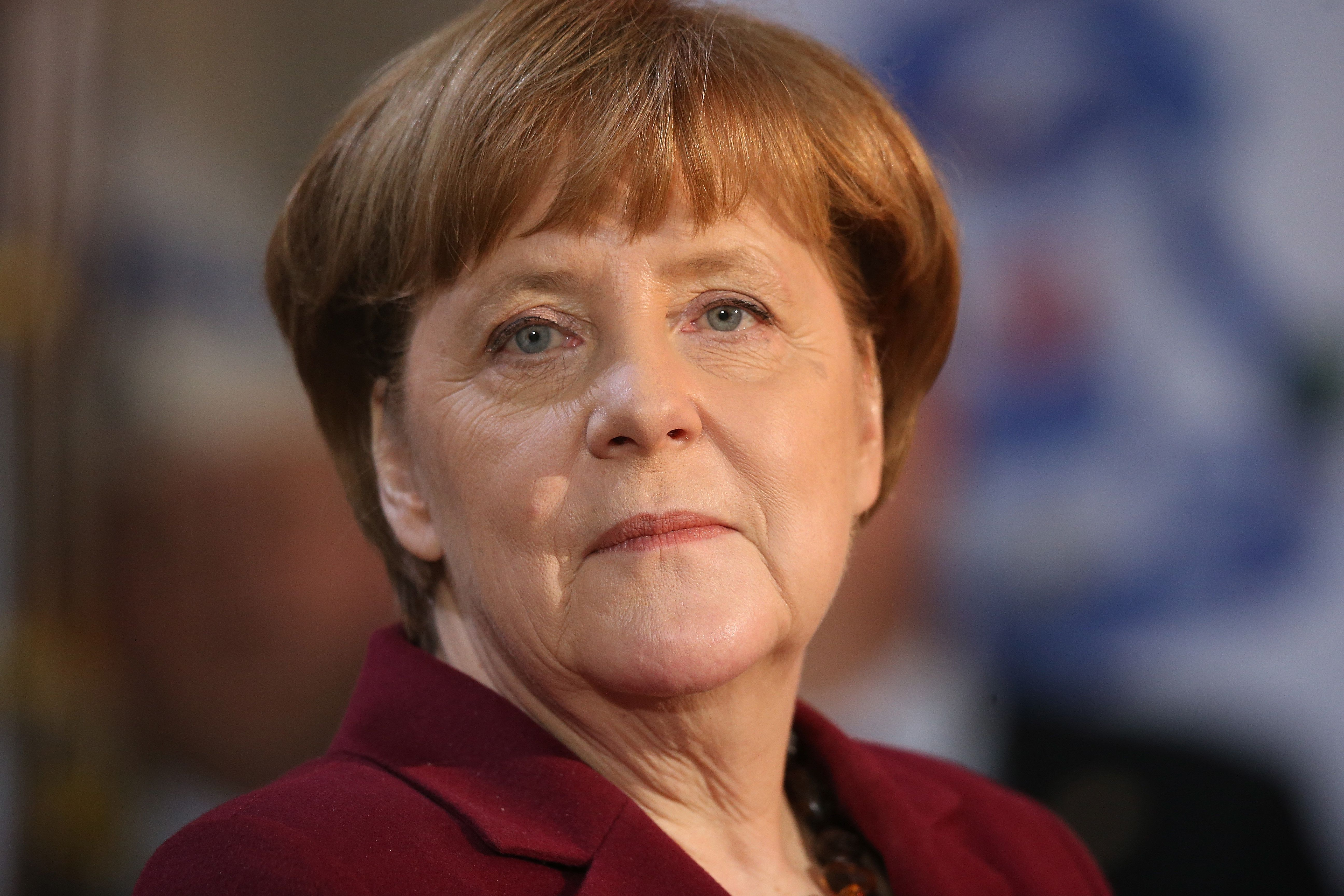 In a speech Monday, German Chancellor Angela Merkel said the rise of populism wouldn't get the world