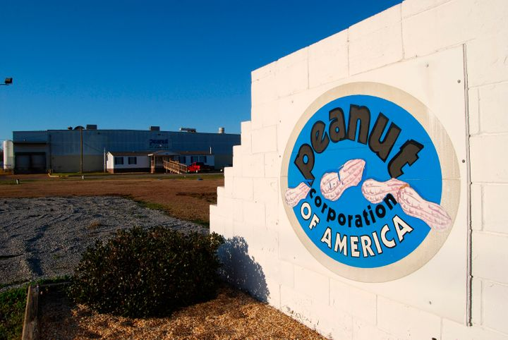 The building of the now-shuttered Peanut Corporation of America plant is pictured in Blakely, Georgia on January 29, 2009.