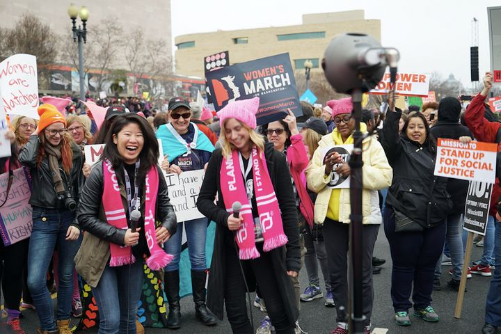 RYOT kicks off the Facebook VR live stream of the Women's March in D.C. with the Nokia OZO.