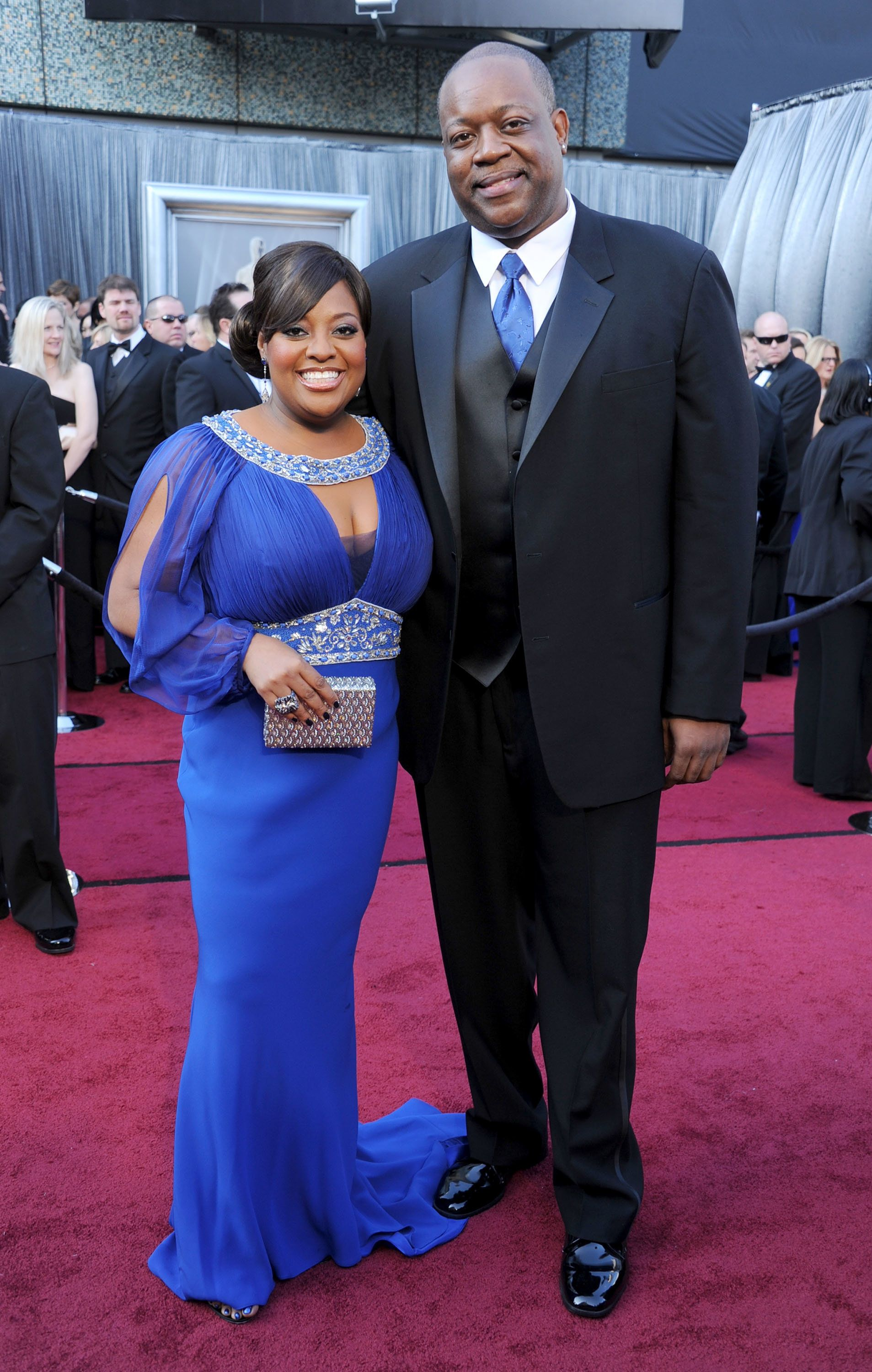 HOLLYWOOD, CA - FEBRUARY 26:  Actress Sherri Shepherd and Lamar Sally  arrive at the 84th Annual Academy Awards at Hollywood & Highland Center on February 26, 2012 in Hollywood, California.  (Photo by Gregg DeGuire/FilmMagic)