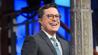 NEW YORK - NOVEMBER 3: The Late Show with Stephen Colbert during Thursday's 11/3/16 show in New York. (Photo by Scott Kowalchyk/CBS via Getty Images)