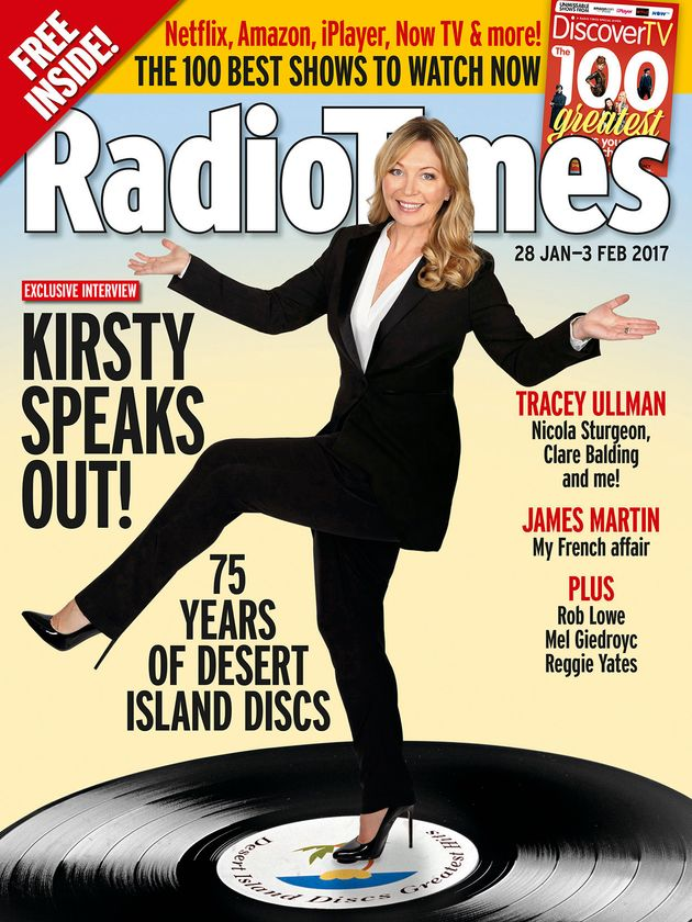 'Desert Island Discs' Host Kirsty Young Reveals Her Favourite Ever Guests... And Who She 'Fell A Little...