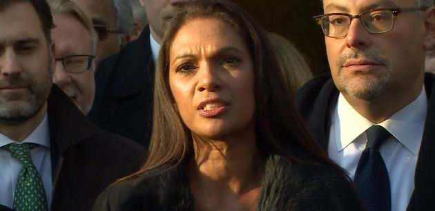 Gina Miller, the lead complainant,spoke of hersuccessful challenge outside the Supreme
