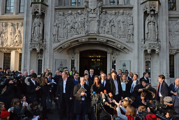 Campaigners react to the Supreme Court's ruling on