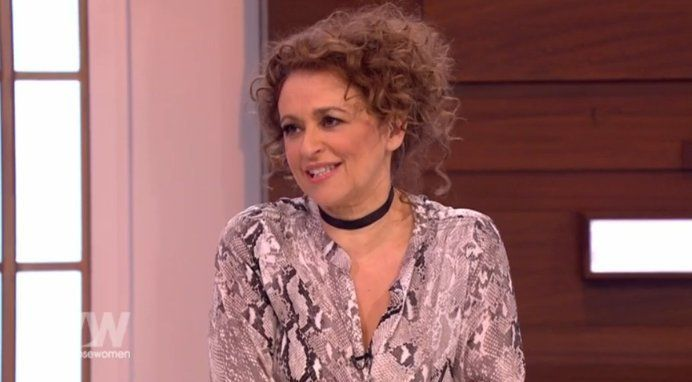 Nadia Sawalha Reveals The Real Reason She's Been Repeat-Wearing 'The Blouse' On 'Loose