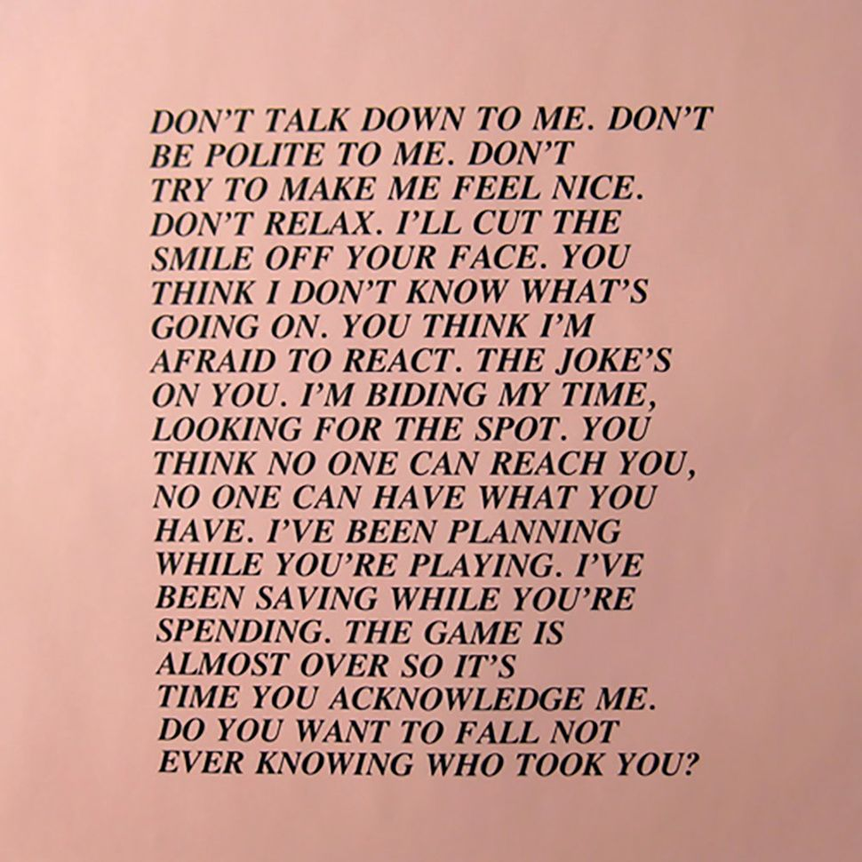 "jenny holzer s nasty essays will get you ready for a revolution  her 1977 ""inflammatory essays"" are eerily relevant today"