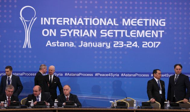 Syria Talks End With Russia, Iran And Turkey Claiming They Will Enforce