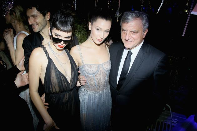 Bella Hadid's Nipple-Baring Dress Leaves Us Wanting Something
