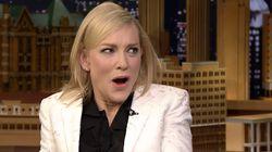 Cate Blanchett Pokes Fun At Trump In Jimmy Fallon